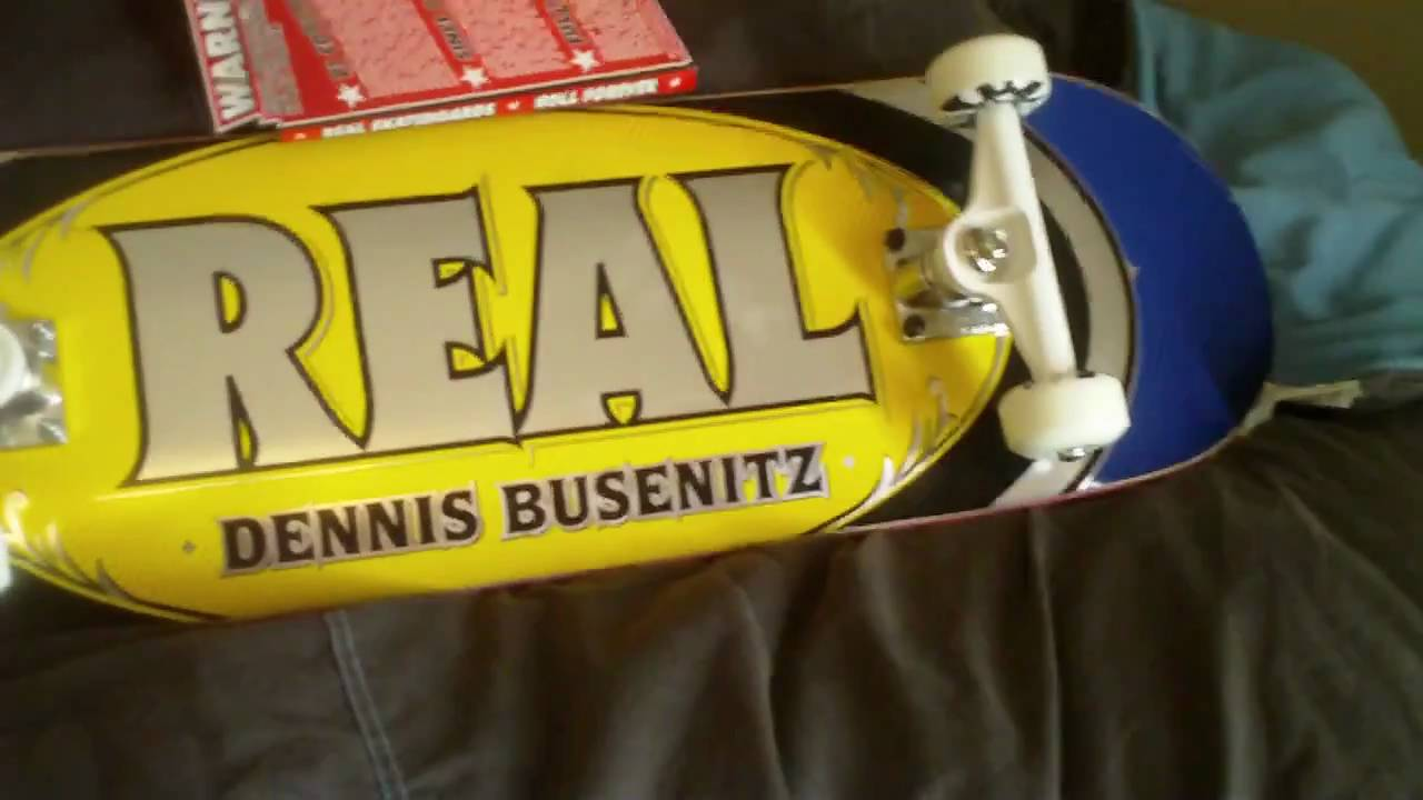 New Real Dennis Busenitz Deck 8.31 - YouTube 5c70e7594