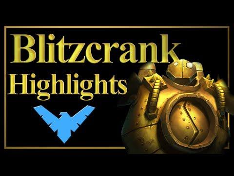 Definitely not Blitzcrank montage: 1