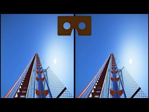 VR 3D Video Roller Coaster 16 Американские Горки для VR очков 3D SBS VR Box