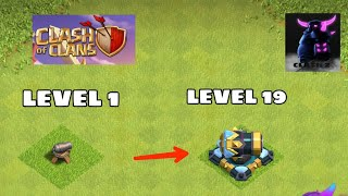 UPGRADING ALL DEFENSES IN ONE MINUTE   CLASH OF CLANS   CLASH Z