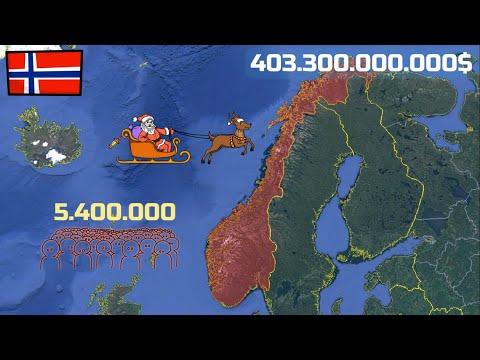 Tại Sao Na Uy Nhỏ, nhưng Giàu Hơn 165 Quốc Gia Khác?
