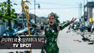 "Power Rangers (2017 Movie) Official TV Spot – ""Rita Repulsa"""