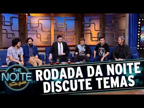 Rodada da Noite com João Valio, Márcio Américo e Osmar Campbell | The Noite (05/07/17)