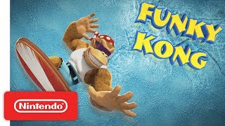 Donkey Kong Country: Tropical Freeze - Meet the Kongs: Funky Kong - Nintendo Switch