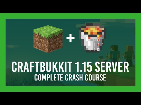 How To Make A Bukkit 1.15 Server (Free | +Plugin & Port Forwarding Guide | Getbukkit.org)