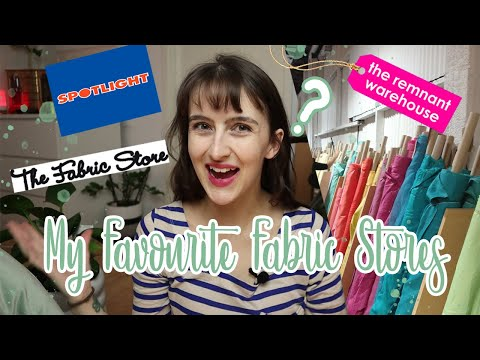 My Favourite FABRIC Shops!  Where To Buy Fabric In SYDNEY AUSTRALIA + Online!