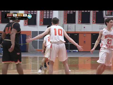 Everett vs Beverly Boys Basketball 2/2/18