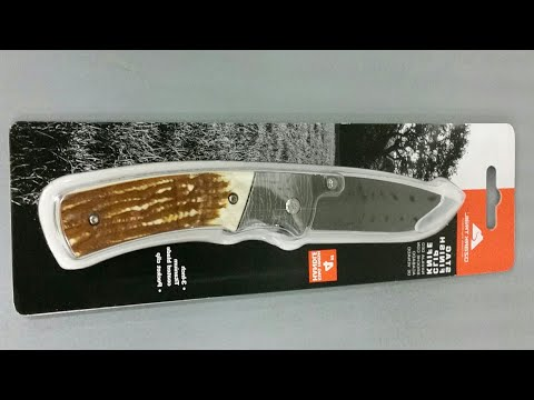 Stag finished ozark trail knife