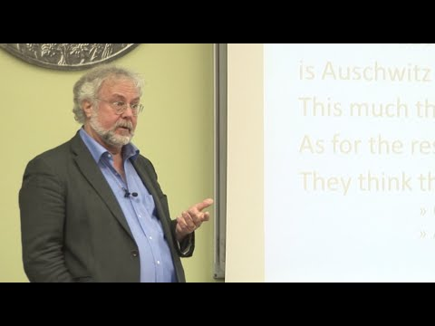 The Holocaust - by Dr. Paul A. Levine