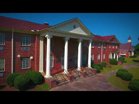 Aerial Tour of John de la Howe School Campus