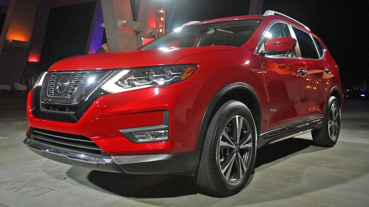2017 Nissan Rogue Hybrid First Look 2016 Miami Auto Show