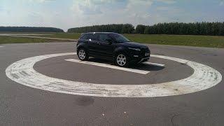 """Range Rover Evoque Si4 (POV Camera) / Тест-драйв Эвок Si4 """"В этой машине есть все!"""""""