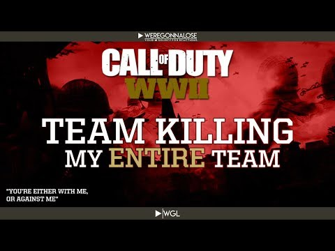 Call of Duty WW2 Gameplay Trolling