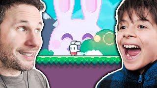 PLATAFORMA DE GRAÇA PARA ANDROID | Yeah Bunny 2 (Gameplay em Português PT-BR)