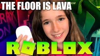 THE FLOOR IS LAVA EN ROBLOX
