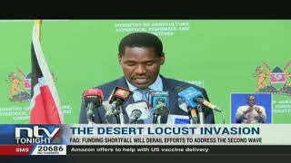 Kenya says it has enough resources to fight desert locusts