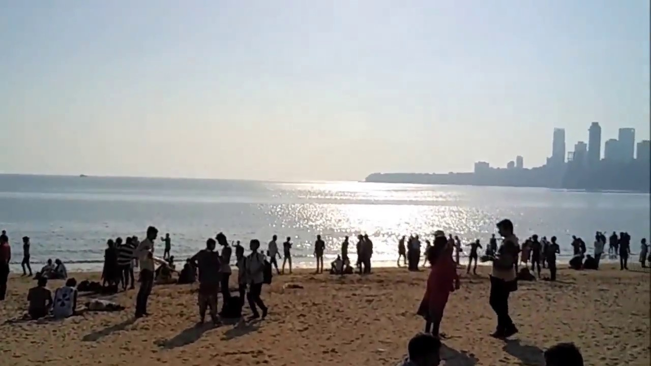 Girgaon/Girgaum Chowpatty - Famous Beaches of Mumbai (गिरगांव चौपाटी - मुंबई) - YouTube