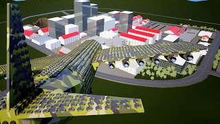 LARGEST BOMBER PLANE Crashes into City of Lego Bricks! - Brick Rigs Workshop Creations - Gameplay