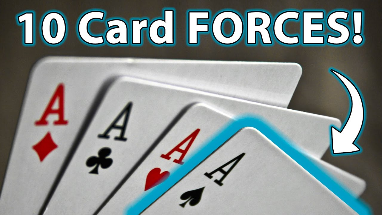 10 Top Easy Ways To Force A Card Magic Tricks How To Youtube