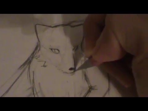 How to draw a wolf anime style old youtube ccuart Choice Image