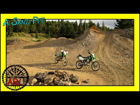 Lamartine Trail Abandoned Mining Roads & Structures - Dual Sport Adventure (KLX250s)