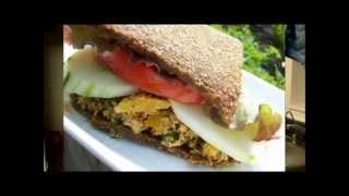 Savory Raw Vegan Flat Bread