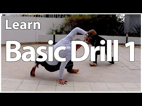 Capoeira Basic Training Drill 1