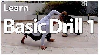 Capoeira Basic Training Drill 1