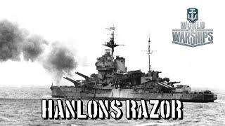 World of Warships - Hanlon's Razor
