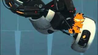Portal 2 - unused GLaDOS Garfield speech