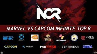 NCR 2018 - Marvel vs Capcom Infinite Tournament - Top 8 Finals