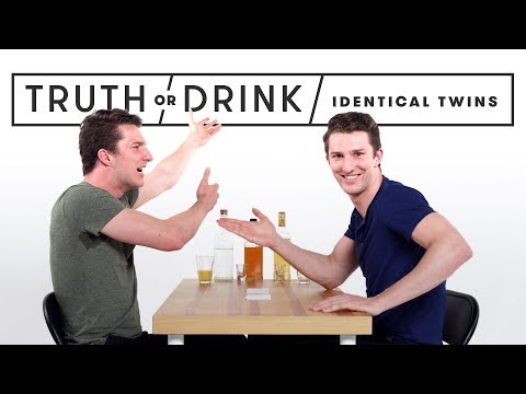 Identical Twins Play Truth or Drink   Truth or Drink   Cut