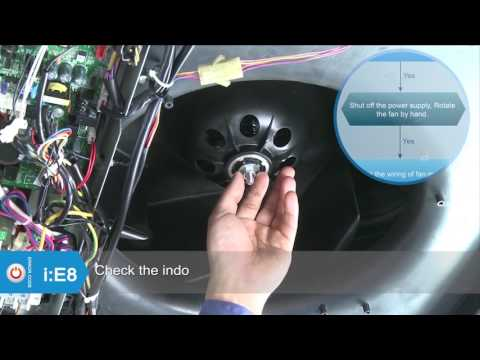 CYB, RYB, UYB. FYB Inverter Systems: E8 Error Code Service and Diagnostic