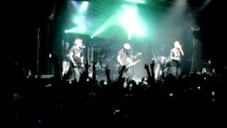 PANIK \ Nevada Tan - Vorbei - live DVD Niemand Hoert Dich