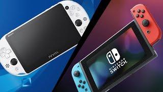 PlayStation Vita vs Ninтendo Switch