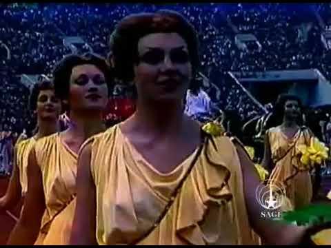 Открытие Олимпиады.Москва.1980 (полная версия) The Opening Of The Olympics.Moscow.1980