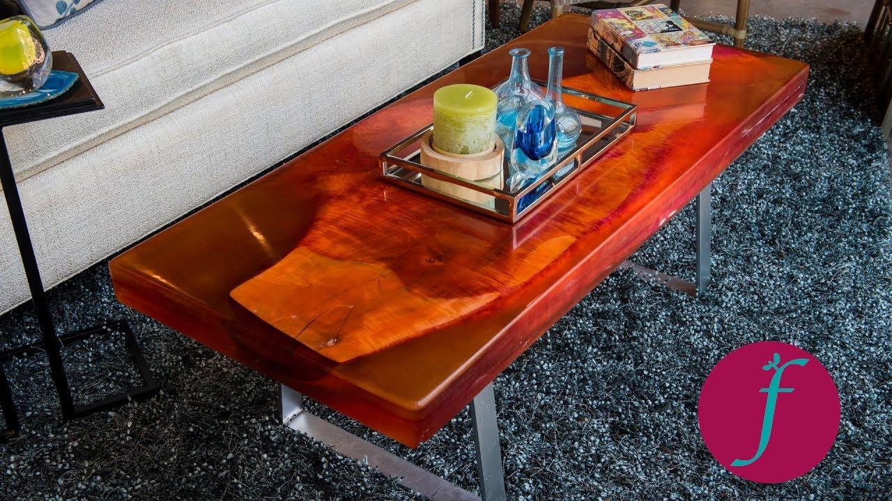 Epoxy Slab Table