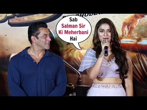 Saiee Manjrekar On Debut With Salman Khan In Dabangg 3 Mp3
