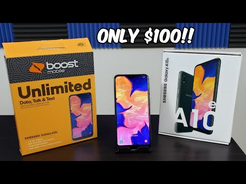 Samsung Galaxy A10e Unboxing and First Boot Up// Only $100!