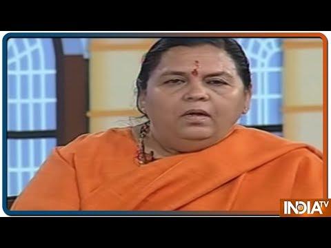 Chunav Manch 2019: उमा भारती ने मायावती पर साधा निशाना