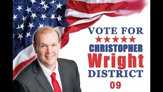 Christopher Wright for US congress district 9 talking point 1-Economic Growth