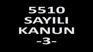 BES - SGK GÖREVDE YÜKSELME VE UNVAN DEĞİŞİKLİĞİ SINAVI EĞİTİMİ (5510 SAYILI KANUN) - 3