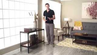 Belham Living Trenton Industrial Console Table - Product Review Video