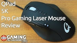 Review: QPad 5K Pro Gaming Laser Mouse - Gaming Till Disconnected