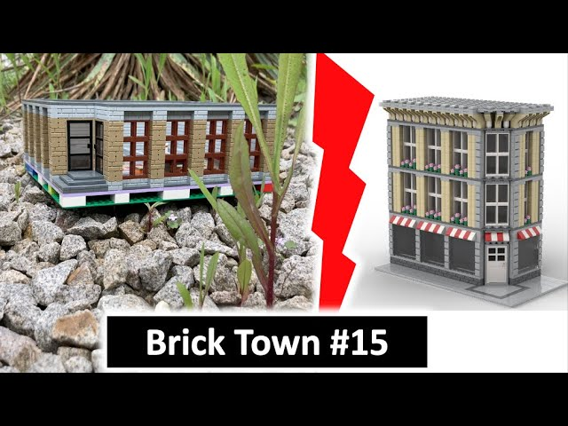 Hochhaus MOC 1. Etage + Eckhaus MOC - Brick Town 15