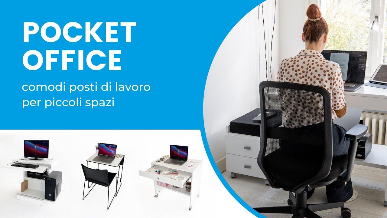Pocket Office - Comodi posti di lavoro per piccoli spazi