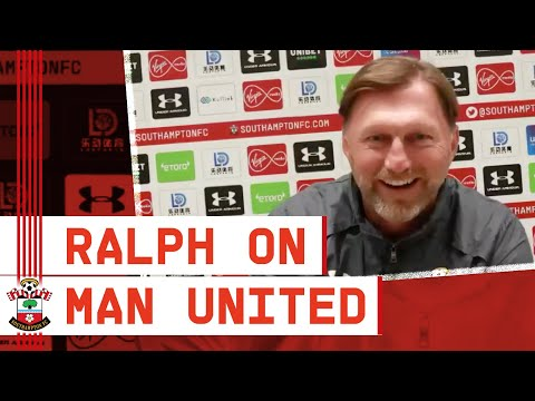PRESS CONFERENCE: Ralph Hasenhüttl previews Manchester United vs Southampton from YouTube · Duration:  34 minutes 3 seconds