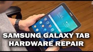 samsung galaxy tab teardown and sim jacket repair
