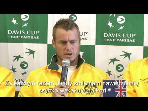 Davis Cup: Lleyton Hewitt