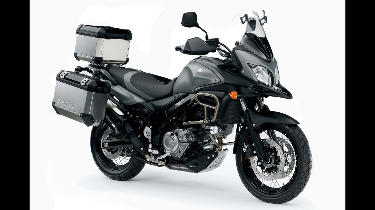 2015 suzuki v strom 650xt abs available in four colors gray white blue and red youtube. Black Bedroom Furniture Sets. Home Design Ideas